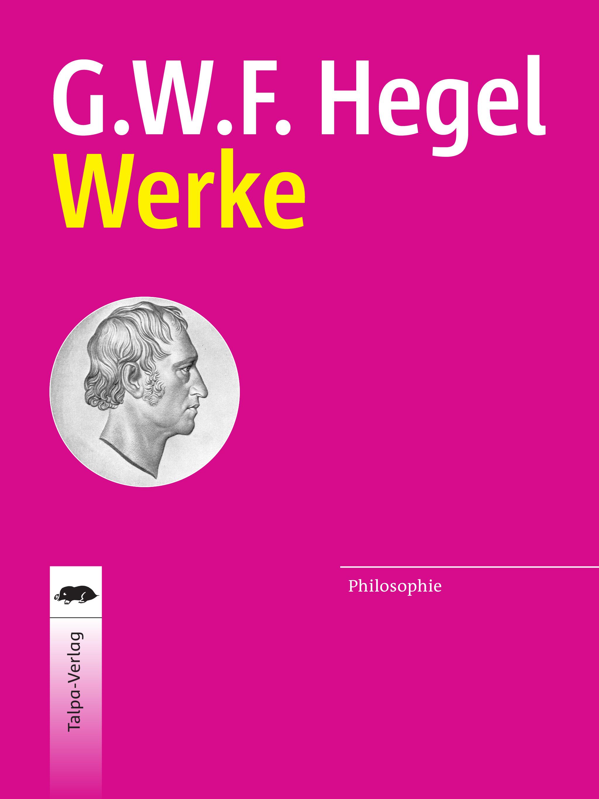 Hegel Werke